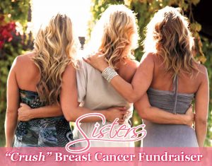 Sisters Crush Breast Cancer Fundraiser
