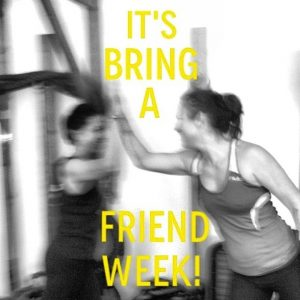 Fitness Revolution bring a friend week