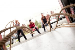 Sarah Lane Studios - Ropes - Boot Camp