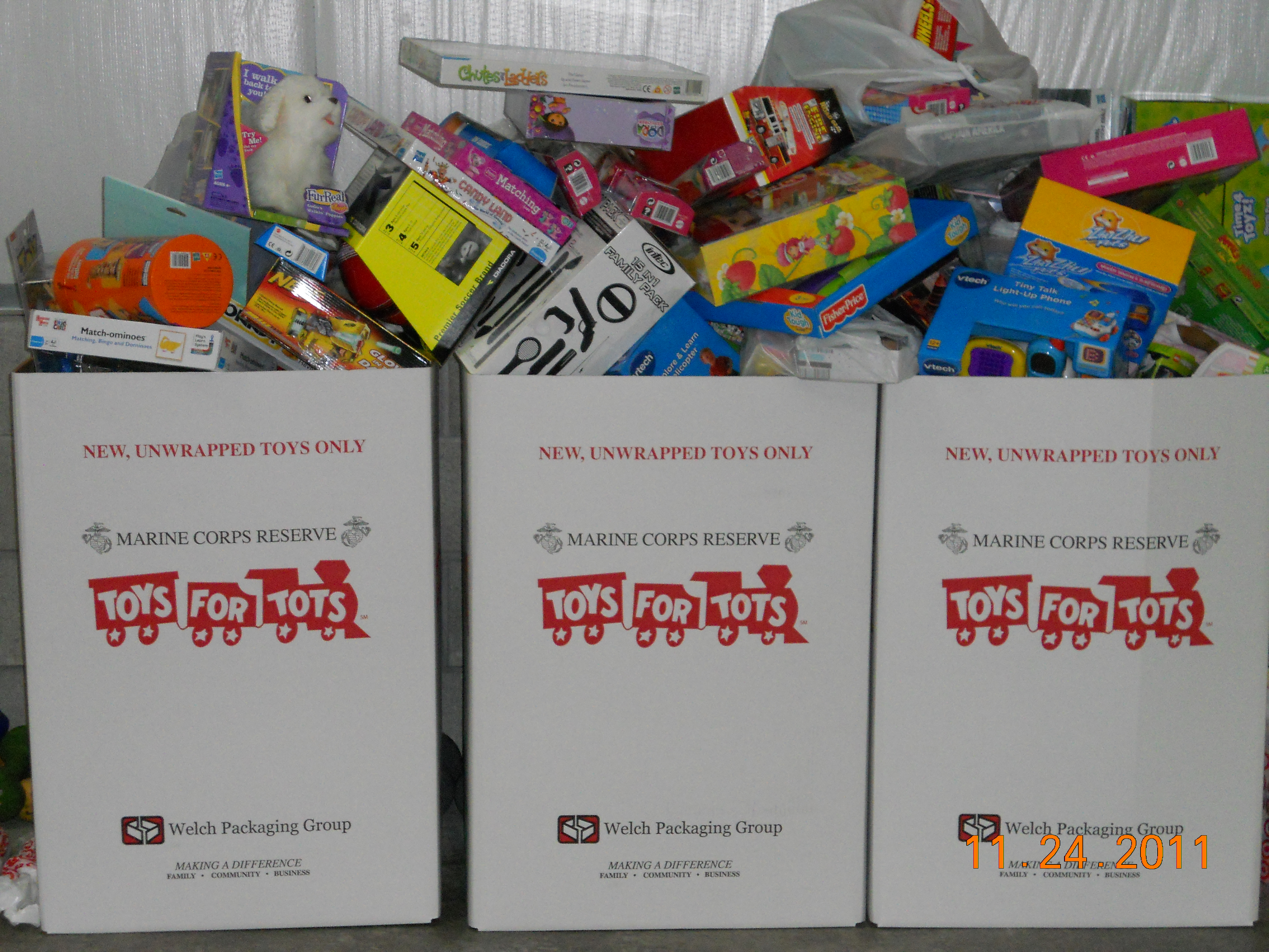 Fitness Revolution Toys for Tots