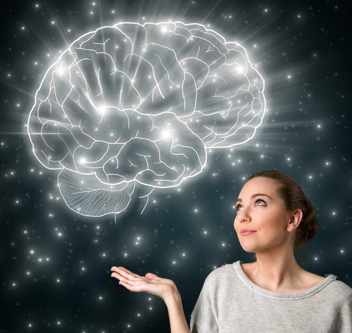 картинка светящийся мозг рейс, при