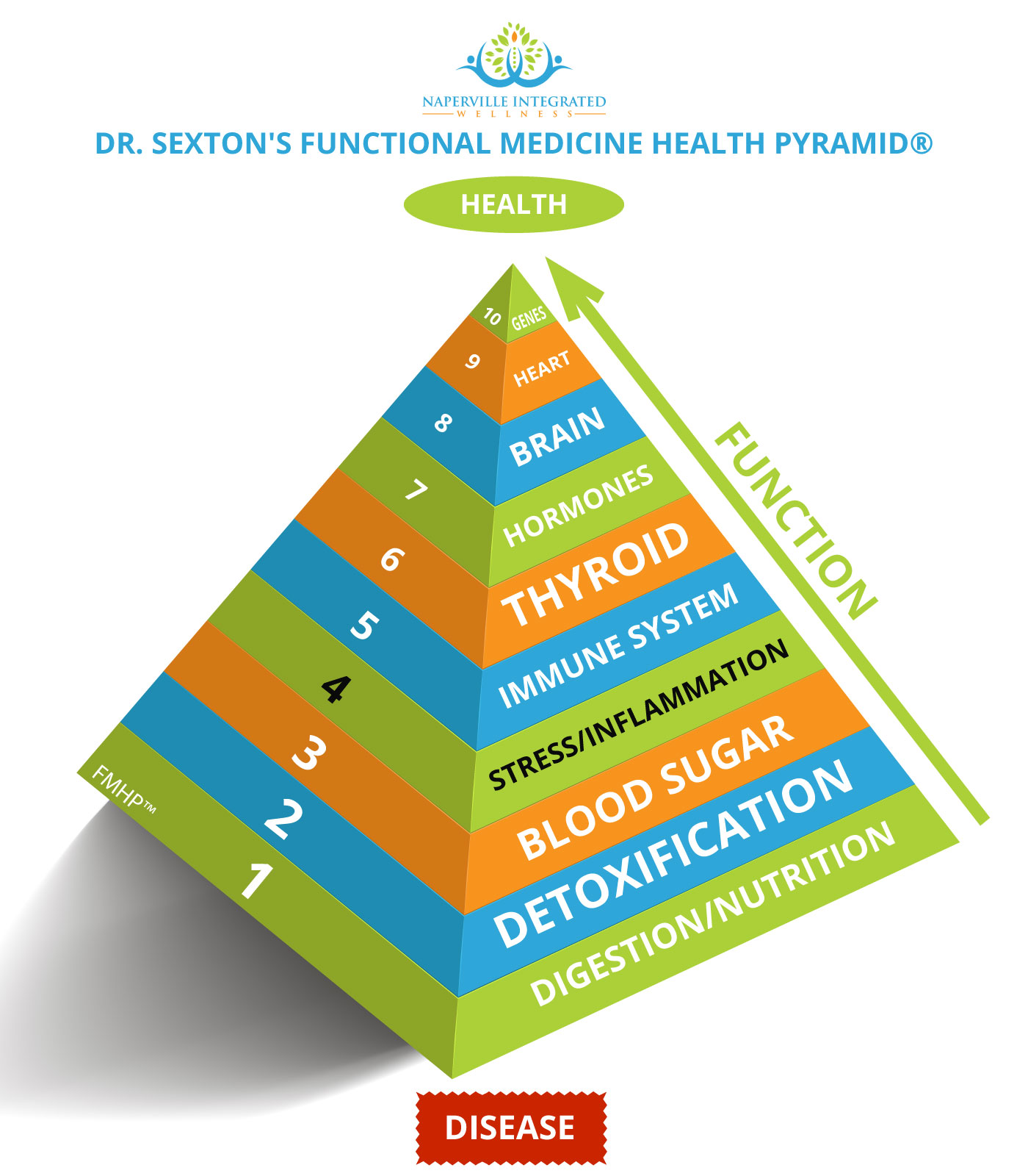 Functional Medicine Health Pyramid # 4 Stress and