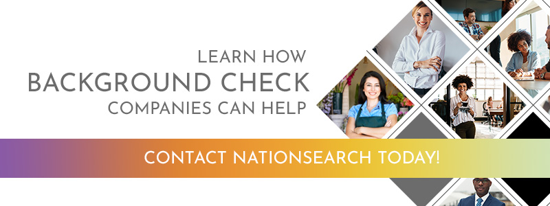 Call to action banner about background checks.