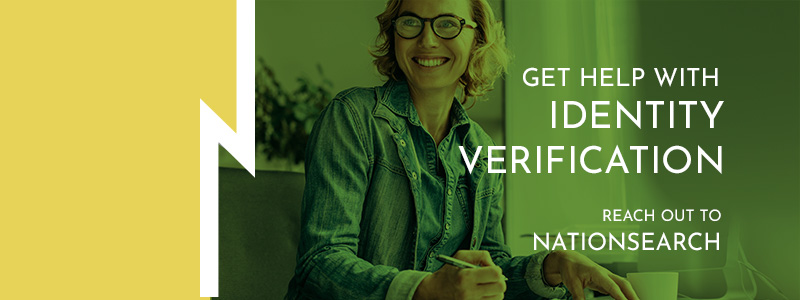 Call to action about the importance of identity verification.