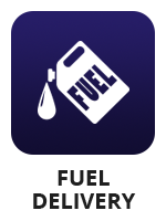 "A fuel cannister icon with the term ""fuel delivery"""