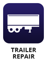 "An icon of a semi trailer with the term ""trailer repair"""