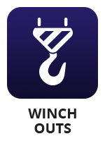 "An winch icon with the term ""winch outs"""