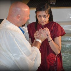 Youth Baptism in Mansfield