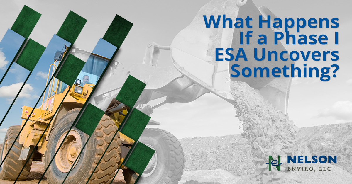 Phase I ESA Uncovers Something