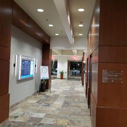 Commercial entrance remodel