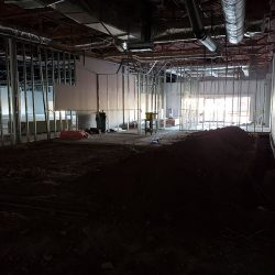 Commercial remodeling site