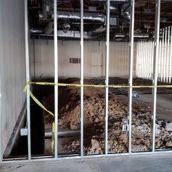 Commercial renovation site