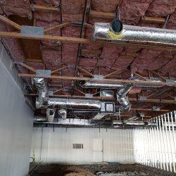 Commercial HVAC remodel