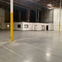 Warehouse remodel interior