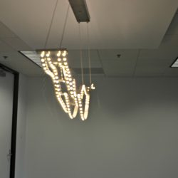 Trendy commercial office lights