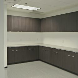 Interior remodel after office renovation
