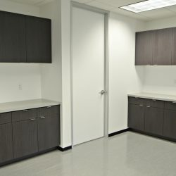Interior remodel after office construction