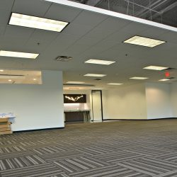 Commercial office interior under construction