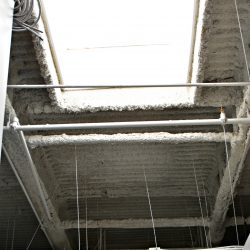 View of commercial office ceiling