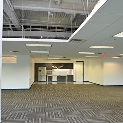 Open office space after office remodel