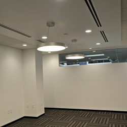 Interior of business after commercial remodel