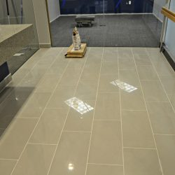 Commercial bathroom renovation