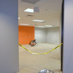 Commercial business remodel