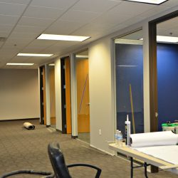 Interior office renovations