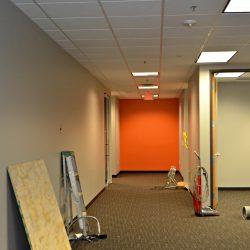 Office renovation work