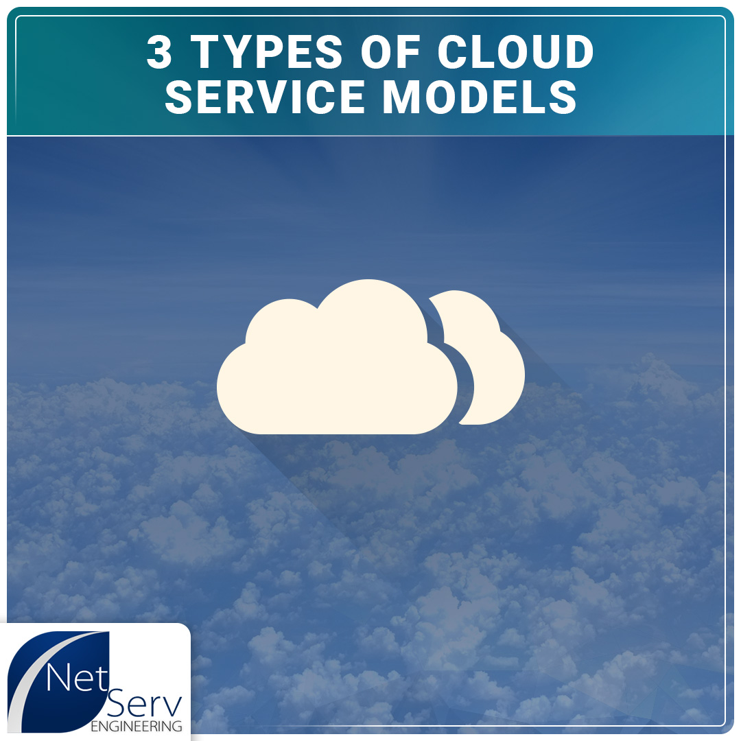 3 Types of Cloud Service Models