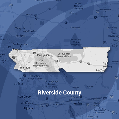 Riverside County Map