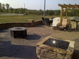 paved patios