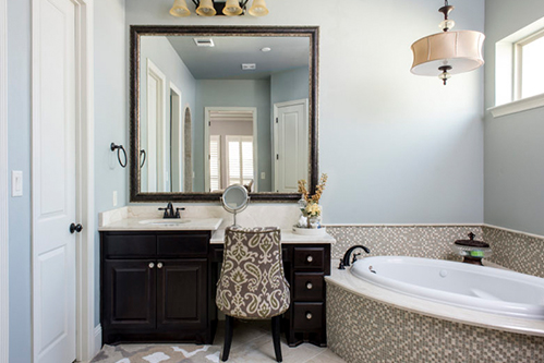 Custom Mirrors Houston Let Us Install Your New Bathroom Mirror - How much to install a new bathroom