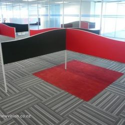 Colorful office fitouts