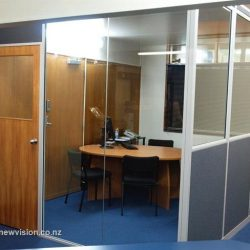 Glass windows for personal offices
