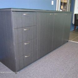 Gray Office Cabinet