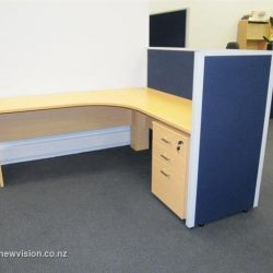 Wooden Desk and Fitout