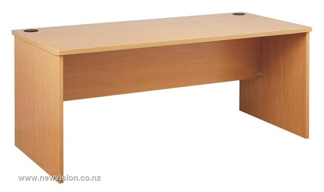 Rectangle Office Desk - Wood
