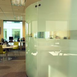 NZ Venture Investment Fund Office - Glass Wall