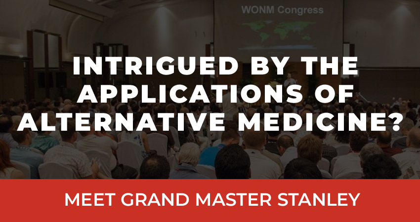 """""""Intrigued by the applications of alternative medicine? Meet Grand Master Stanley."""""""