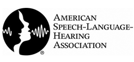 American Speech-Language Hearing Association Logo
