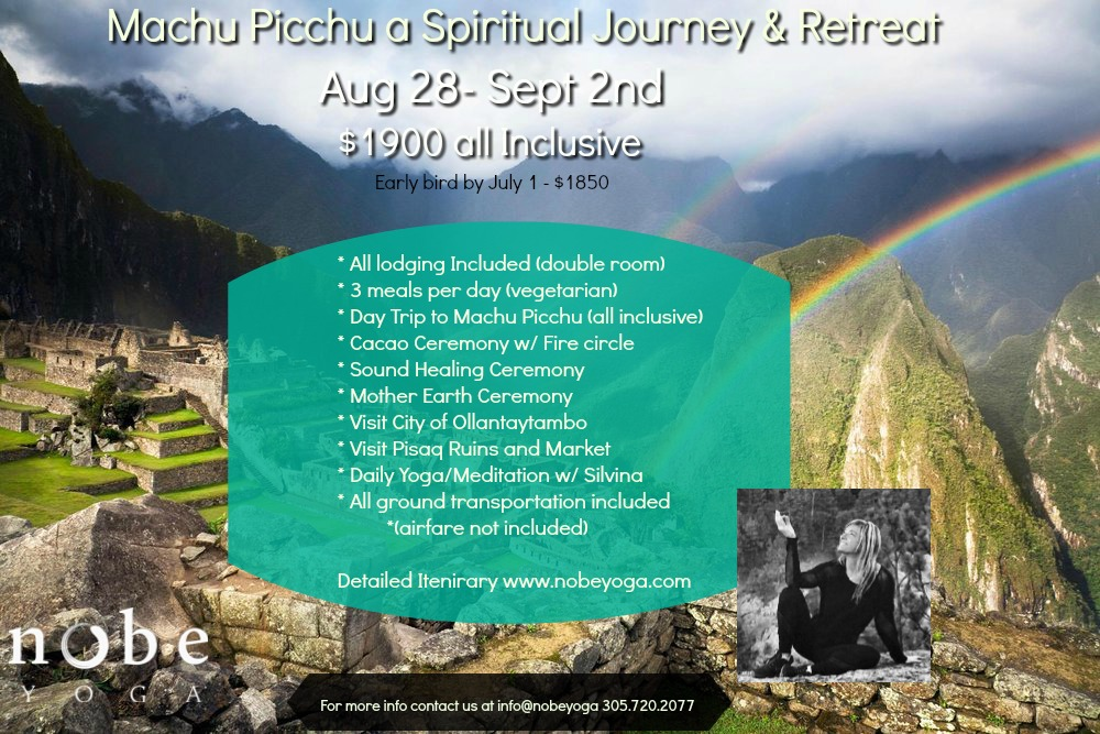 machu picchu yoga retreat