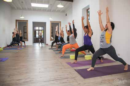 yoga pose module
