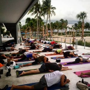 yoga beach miami