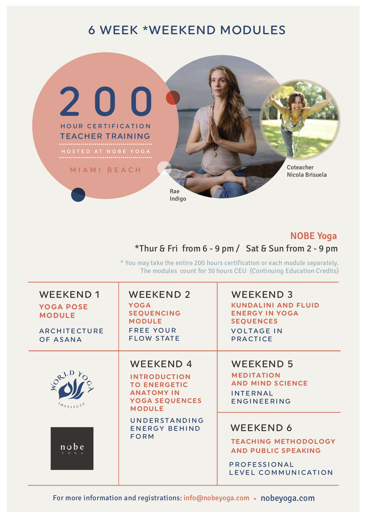 Yoga Teacher Training Miami