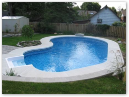 Contact us for pool liners and more!