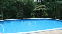 One of our above ground pools.