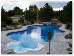 Learn more about our in ground pools.