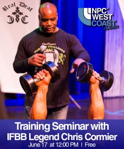 chris cormier training clinic