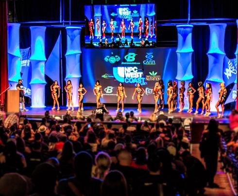 NPC contest show stage
